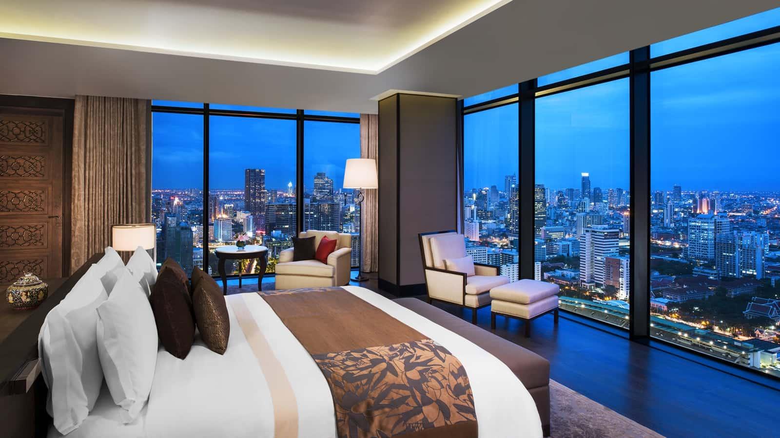 Bangkoks best city center 5 star luxury hotels the st regis hotel bangkok
