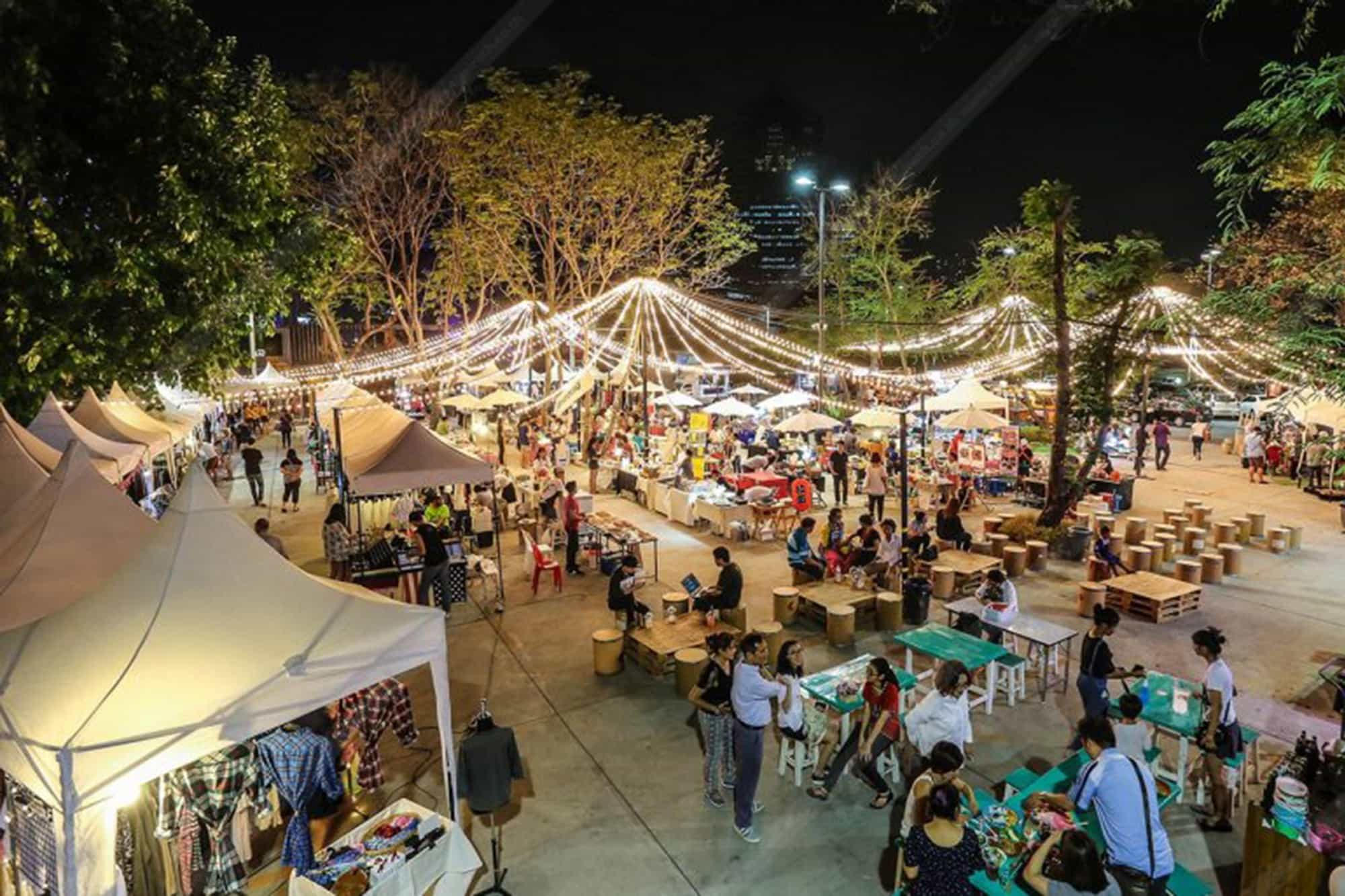 Best Markets In Bangkok: Box Space Ratchayothin